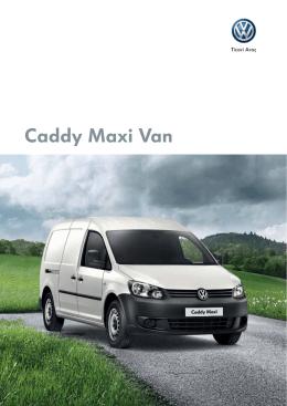 Caddy Maxi Van - Volkswagen Ticari Araç
