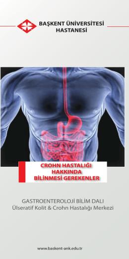 Crohn Hastalığı Broşürü İçin Tıklayınız