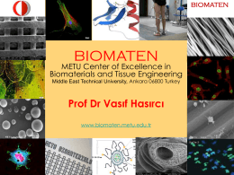 BIOMATEN - Middle East Technical University