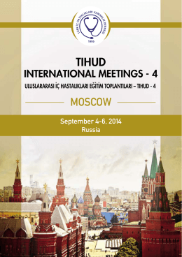 TIHUD INTERNATIONAL MEETINGS