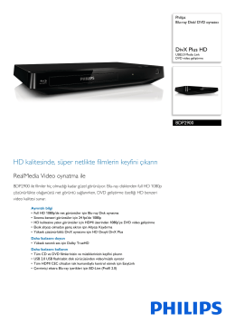 BDP2900/12 Philips Blu-ray Disk/ DVD oynatıcı