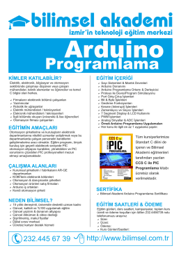 Arduino Programlama