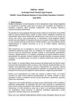 SU0303 - Havza Ölçeğinde Noktasal ve Yayılı Kirletici