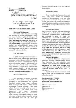 28.03.2014Kuran ve Hadiste Salih Amel