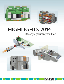 Highlights 2014 Katoloğumuzu indirmek için lütfen