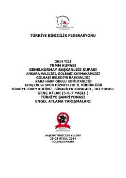 2014 TBMM, Genel Kurmay Başkanlığı Genç Atlar Türkiye