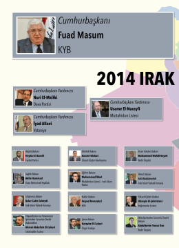 İnfografi: 2014 Irak Hükümeti