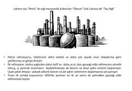 Vakum Distilasyon Ünitesi