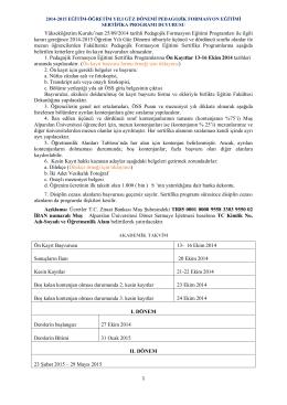 duyurusu - Muş Alparslan Üniversitesi