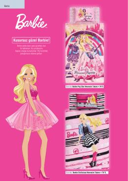 Kusursuz güzel Barbie!