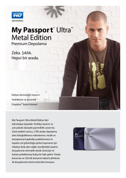 My Passport® Ultra™ Metal Edition - Product