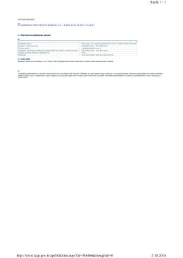 Sayfa 1 / 1 2.10.2014 http://www.kap.gov.tr/api/bildirim.aspx?id
