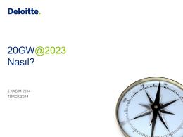 Deloitte PowerPoint template