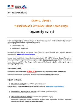 BASVURU ISLEMLERI_L2 L3-M1 M2 2014
