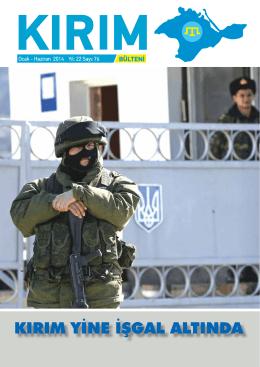 bülten 76 - Kırım Türkleri Derneği