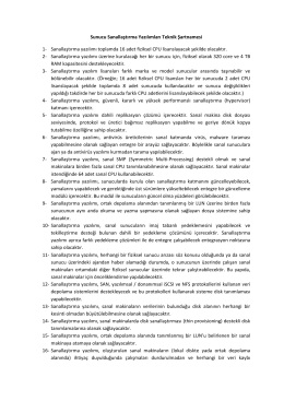 2014-49196 Sanallastirma Teknik Sartname