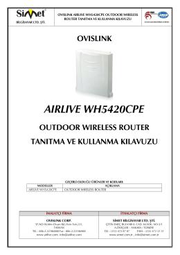 aırlıve wh5420cpe - Simet İletişim ve Bilgisayar