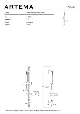 Tanım Sense Sürgülü El Duu Takımı Kod :A45546 Aırlık (kg