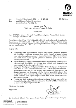 ıSTANBUL - Borsa İstanbul