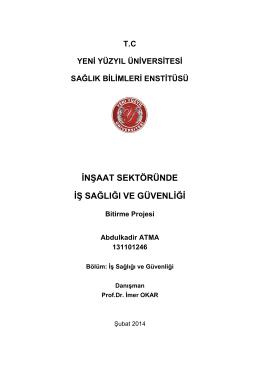 Abdulkadir Atma - İstanbul Yeni Yüzyıl Üniversitesi
