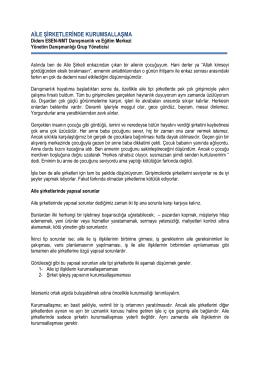 Didem Esen / Aile Şirketleri - NMT Danışmanlık ve Eğitim Merkezi