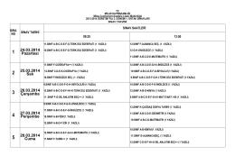 1. Ortak Sınavlar (PDF Dosyası)