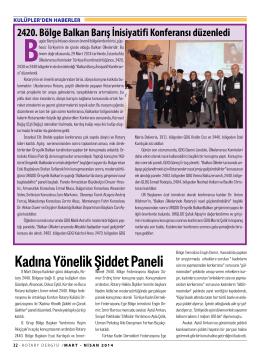 SAYFA 32 - 39 KULÜPLERDEN HABERLER