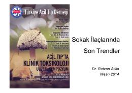 Sokak ilaçları Doç.Dr.Rıdvan Atilla