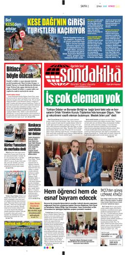 257 YILLIK RAMi - Sondakika Gazetesi