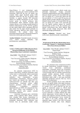 Lutein ve İsoflavonoid