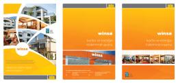 Winsa PVC Kataloğu