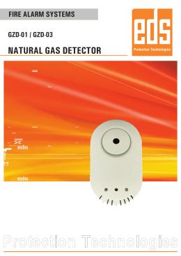 natural gas detector - EDS Elektronik Destek Sanayi ve Ticaret Ltd.