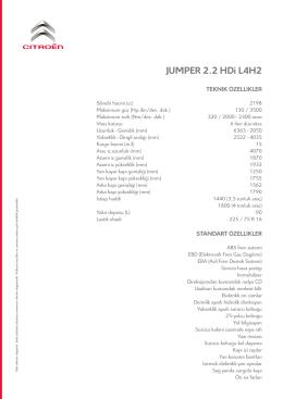 JUMPER 2.2 HDi L4H2