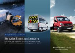 2. El hafif ticari araçlarda her açıdan kazandıran kampanya!