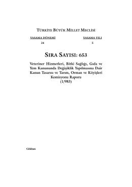 653 - Türkiye Büyük Millet Meclisi