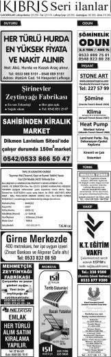 KI B RI S - Kıbrıs Gazetesi