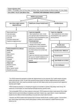 Prof. Dr. Okan Bülent Yıldız - Endokrinolojide Algoritmler
