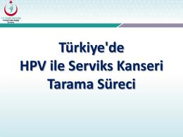 HPV - Türkiye Halk Sağlığı Kurumu