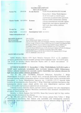2014/159 KARAYOLLARI 2. BÖLGE MÜDÜRLÜĞÜNÜN 26.09.2014
