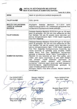 Gündemin 34.Maddesi - Antalya Belediyesi