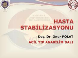 Hasta Stabilizasyonu