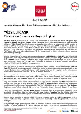 YÜZYILLIK AŞK - İstanbul Modern