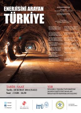 YEr TArİH - SAAT - İstanbul Teknik Üniversitesi