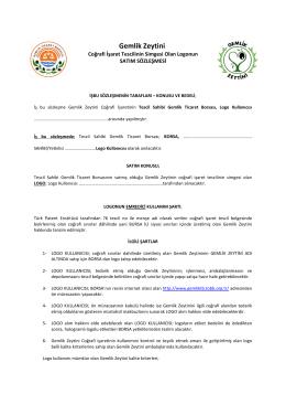 Etiket Kullanım Sözleşmesini PDF dosyasını indirmek için tıklayınız..