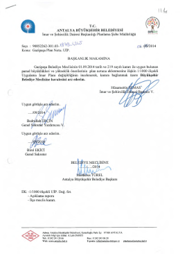Gündemin 114.Maddesi - Antalya Belediyesi