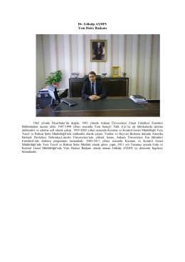 Dr. Gökalp AYDIN Yem Daire Başkanı