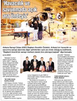 02.12.2014 - Ankara Sanayi Odası