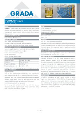 FORMOIL® 1021