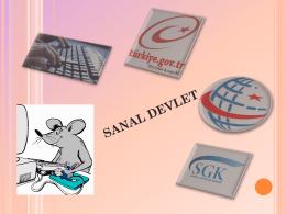 SANAL DEVLET
