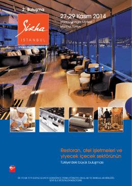 27-29 Kasım 2014 - Sirha İstanbul